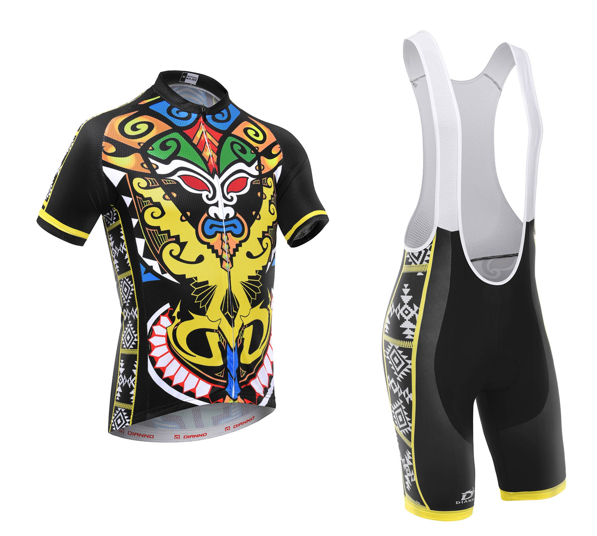Totem ''club 2.0'' Breathable Cycling Short Sleeve Jersey And Bib Short(size:3XL)