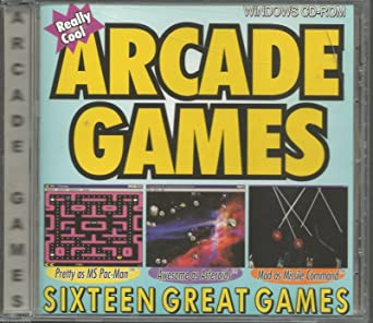 Amazon Com Really Cool Arcade Games 16 Games Video Games