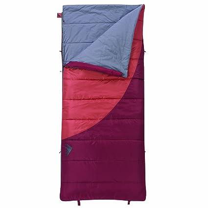 Kelty Tumbler 40/60° - Saco de dormir rectangular para acampada, color naranja