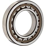 SKF NU 2206 ECP Cylindrical Roller Bearing, Straight Bore, Removable Inner Ring, High Capacity, Polyamide/Nylon Cage…