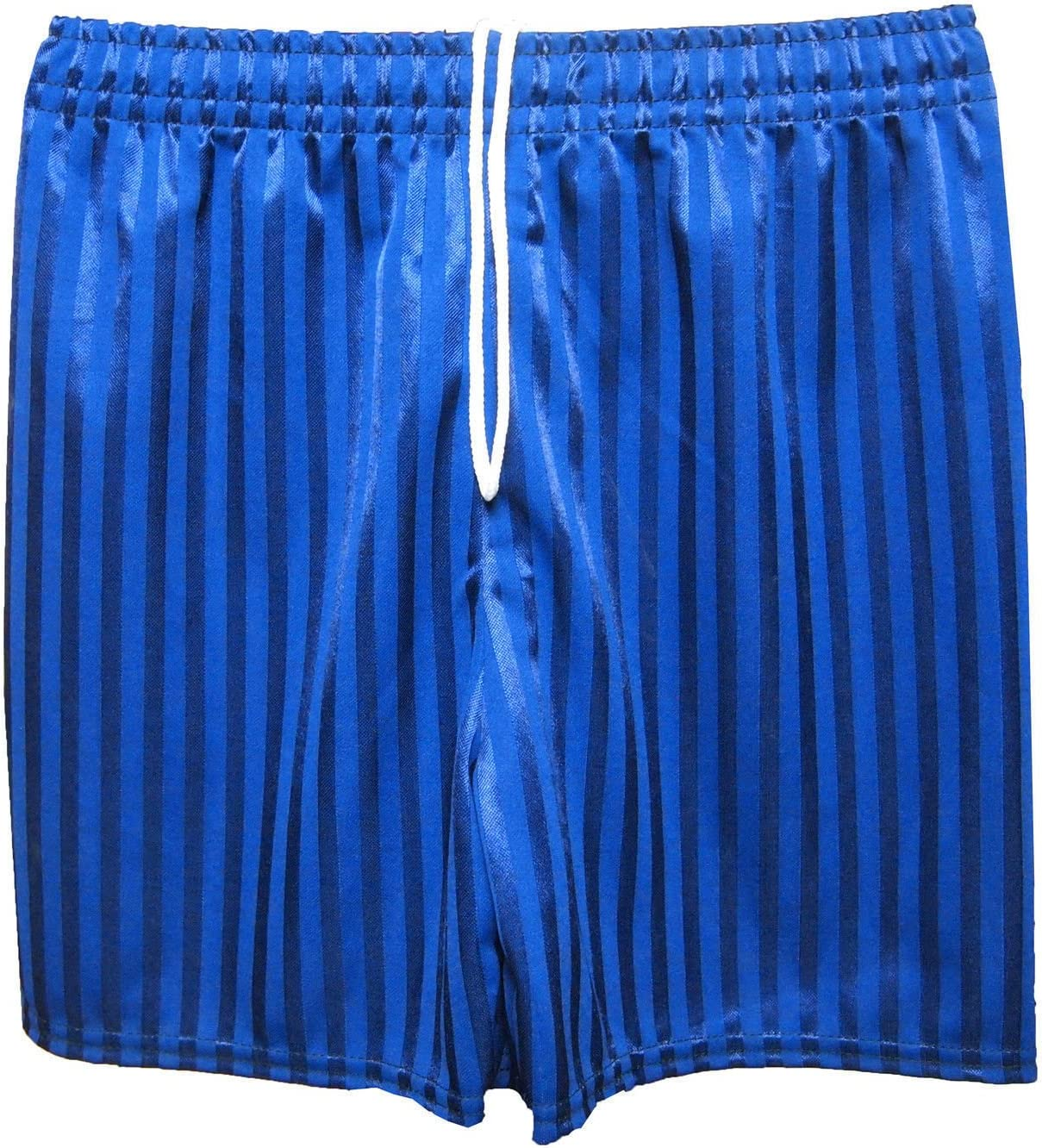 CL BOYS GIRLS MENS KIDS UNISEX SHADOW STRIPE PE SCHOOL SHORTS FOOTBALL GYM GAMES