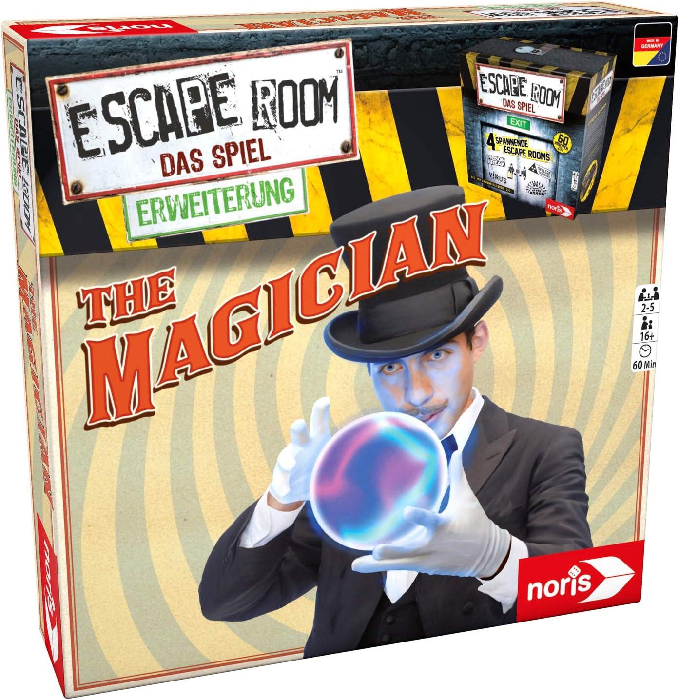 Escape Room Magician: Noris Spiele: Amazon.es: Juguetes y juegos