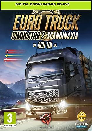 Buy Euro Truck Simulator 2 - Scandinavia (PC Code) Online at Low