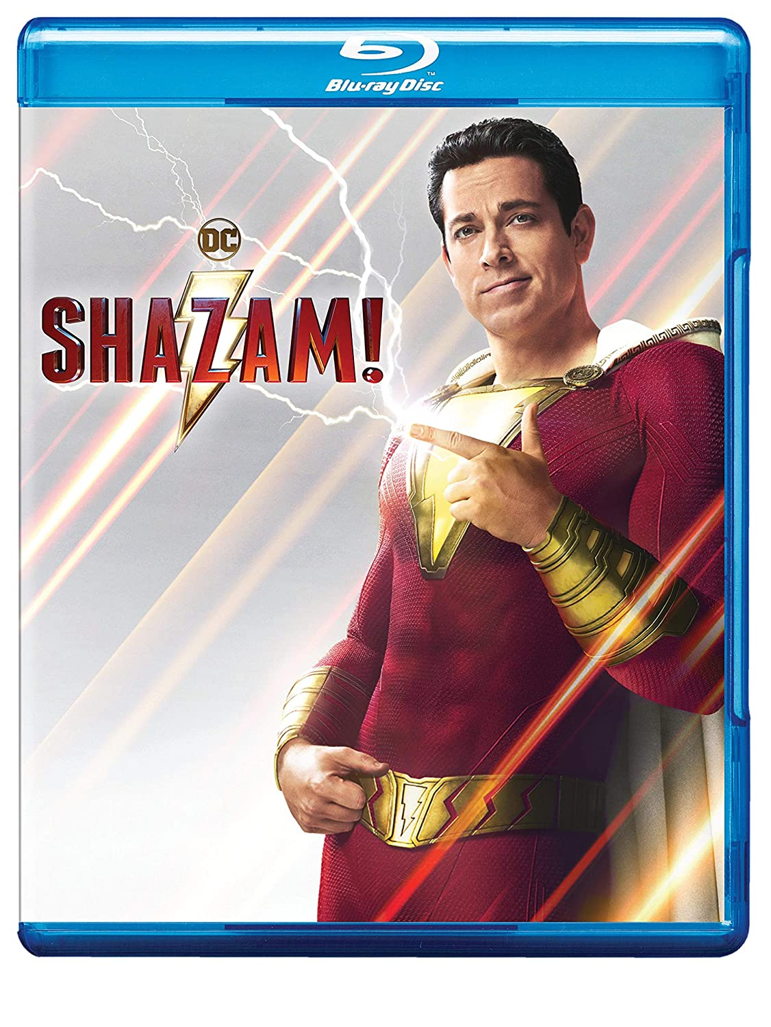Amazon.com: Shazam! (Blu-ray + DVD + Digital Combo Pack) (BD ...