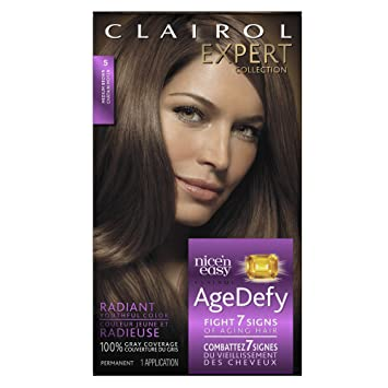 Amazon.com : Clairol Age Defy Expert Collection, 5 Medium Brown ...