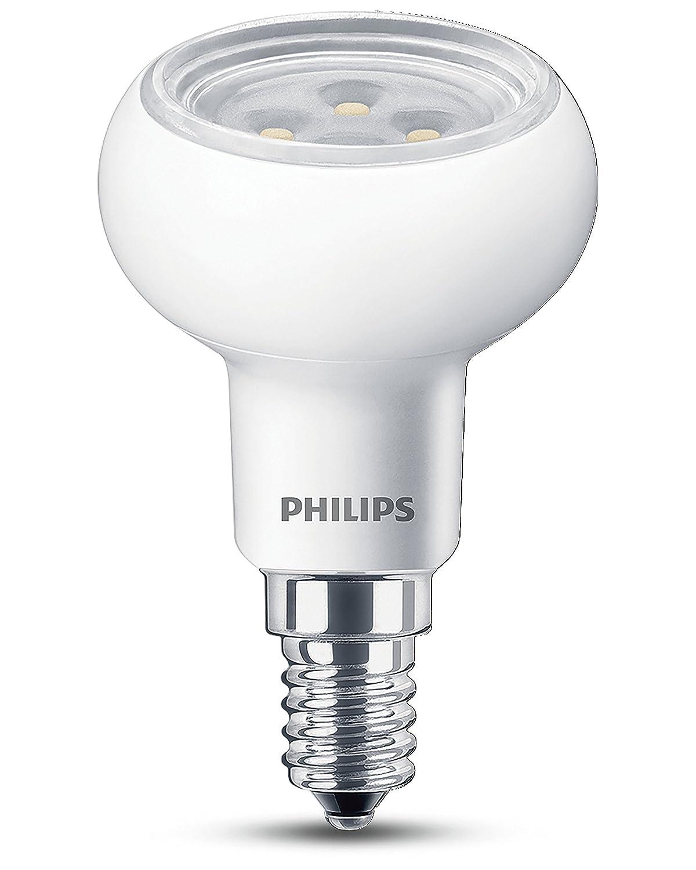 Philips e14 small edison screw led reflector dimmable light bulb philips e14 small edison screw led reflector dimmable light bulb 45 w warm white pack of 10 amazon lighting parisarafo Gallery