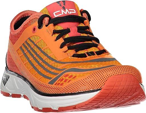 CMP, Hombrs Zapatillas Running Naranja Naranja Fluo: Amazon.es: Zapatos y complementos