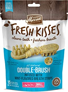 product image for Merrick Fresh Kisses Oral Care Dental Dog Treats for Small Dogs 15-25 lbs