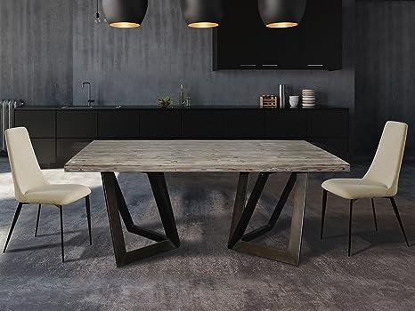 Tavolo Da Pranzo Industriale : Schuller tavoli da pranzo stile industriale oxley