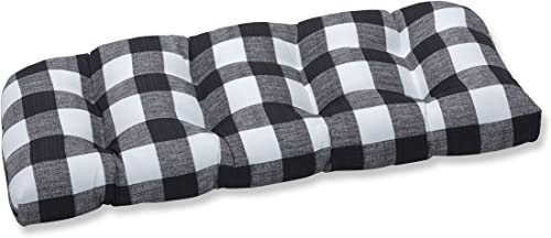 Pillow Perfect Outdoor/Indoor Anderson Matte Tufted Loveseat Cushion