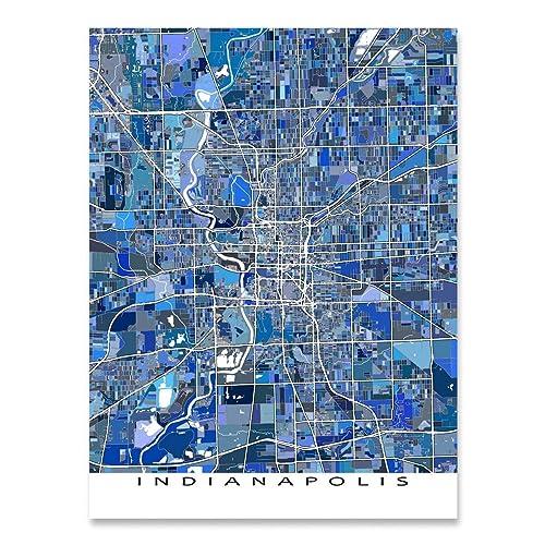 Amazon.com: Indianapolis Map Print, Indiana USA, City Street ... on usa map houston texas, usa map charlotte north carolina, usa map montgomery alabama, united states map indiana, road map of central indiana, usa map little rock arkansas, usa map austin texas, usa map norfolk virginia, street map of westfield indiana, american indiana, usa map louisville kentucky, usa map san antonio texas, us state map indiana, usa map memphis tennessee, usa map omaha nebraska, usa map atlanta georgia, usa map tucson arizona, the map of indiana, usa map lincoln nebraska, usa map tulsa oklahoma,