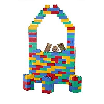 192pc Jumbo Blocks - Jumbo Set (Made in the USA): Toys & Games