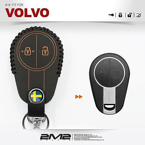 2M2 Funda de Piel para Llavero de Volvo Semi Camión VNL FM ...