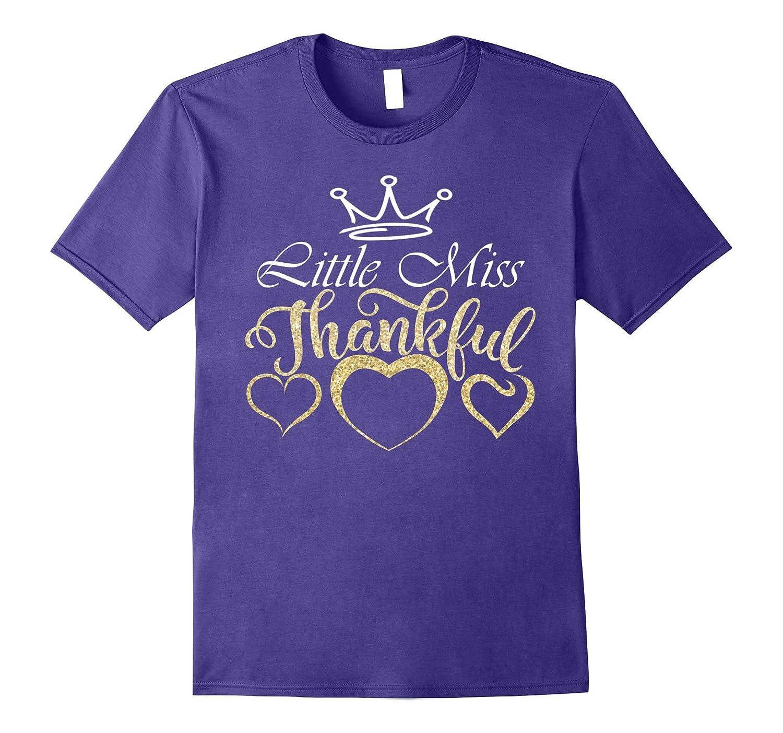 Little Miss Thankful Shirt-Rose