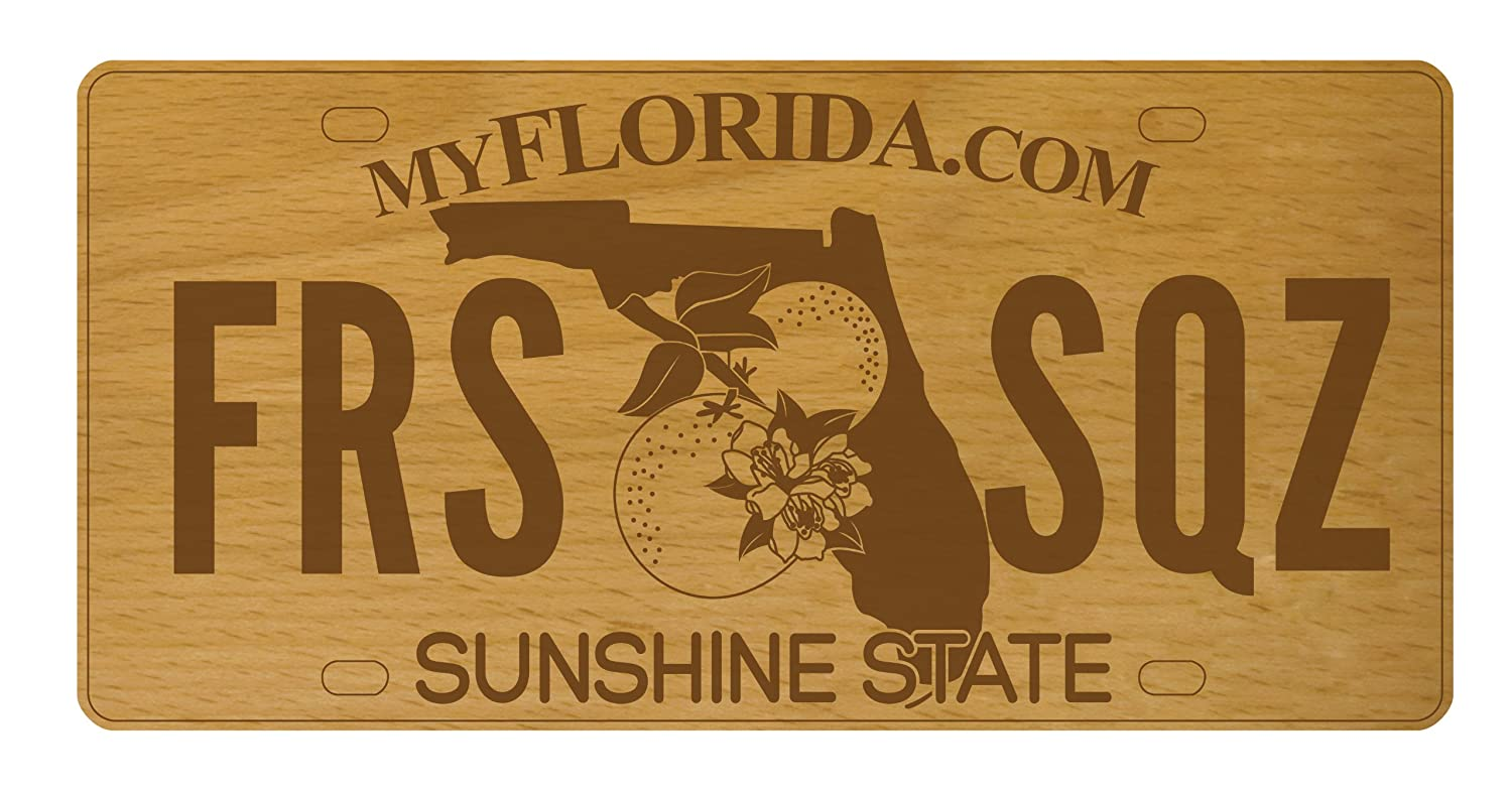 Talisman Designs 24PA Beechwood Pennsylvania Vanity License Plate Cheese Board