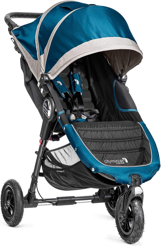 Baby Jogger City Mini GT - Silla de paseo, Turquesa / Gris