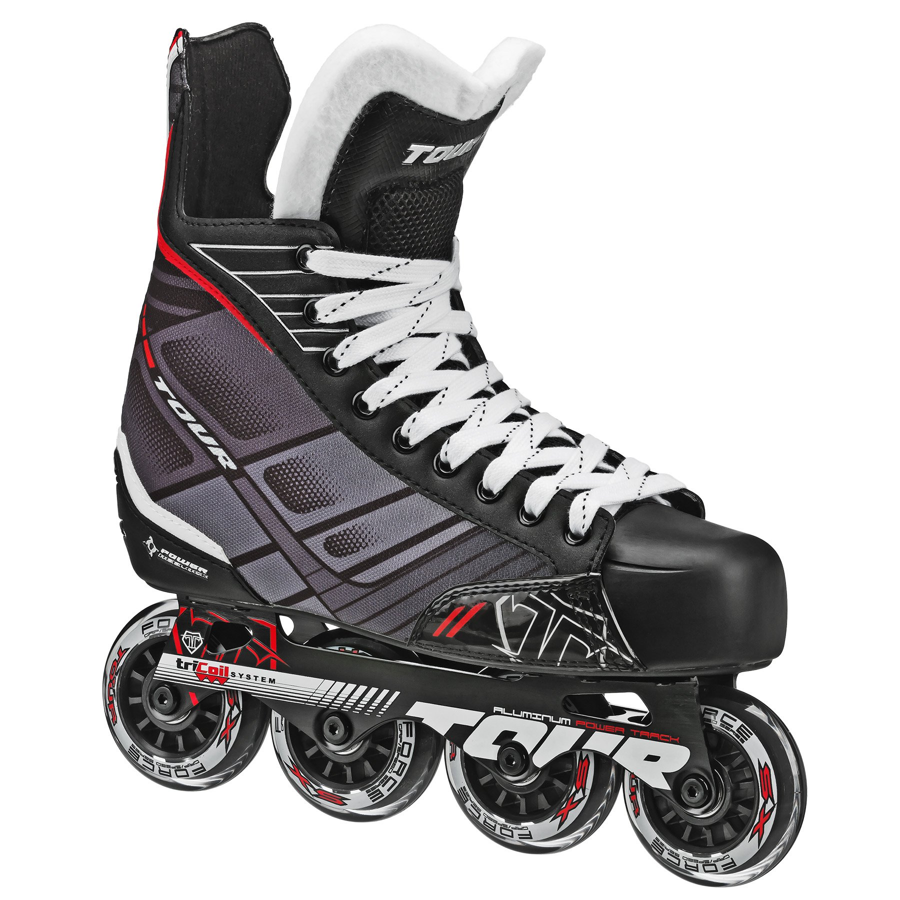 Tour Hockey 48TY-02 Junior FB-225 Inline Hockey Skate by Tour Hockey