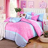 DIAIDI,Luxury Bedding Set,Romantic Wedding Bedding,Pink ...