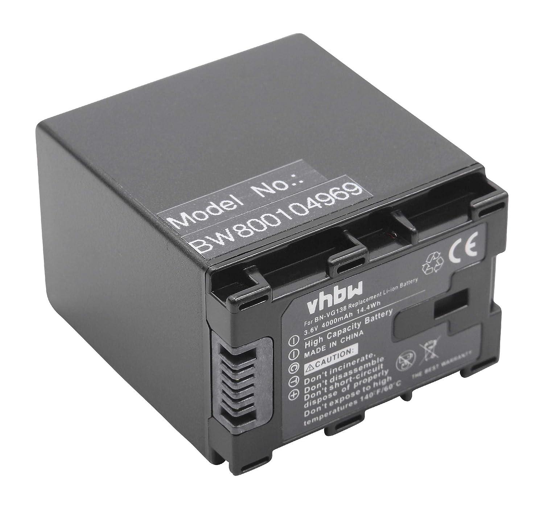 Akku Ladegerät von vhbw FÜR JVC BN-VG121AC BN-VG138 BN-VG121E