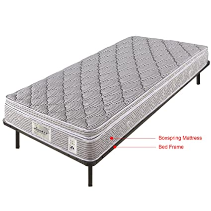 Amazon.com: Bed Frames / Wooden Slats Support / Mattress Foundation ...