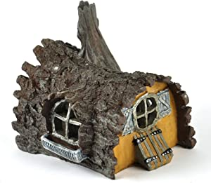 Georgetown Log House Fairy Home - Fiddlehead Fairy Garden Collection