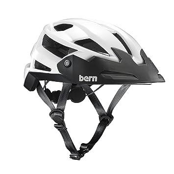 Bern FL de 1 Trail Casco, Todo el año, Unisex, Color weiß-