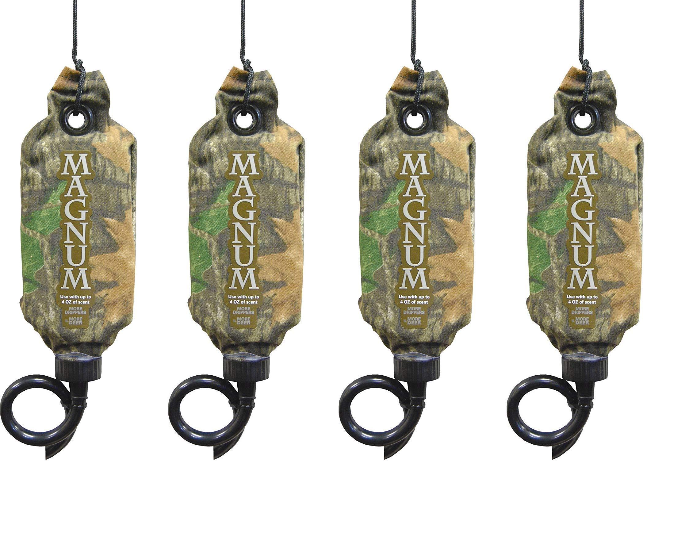 Wildlife 381 Magnum Scrape-Dripper Scent Dispenser, Camouflage (4-(Pack))