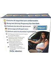 Cinturón para Embarazada de Seguridad en el Coche que protege al Bebé y la Mamá evitando el riesgo de Aborto | adaptador | 100% Garantía y Envío Gratuito