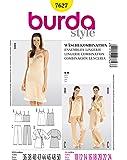 Burda B7627 Patron de Couture Ensembles Lingerie 19 x 13 cm