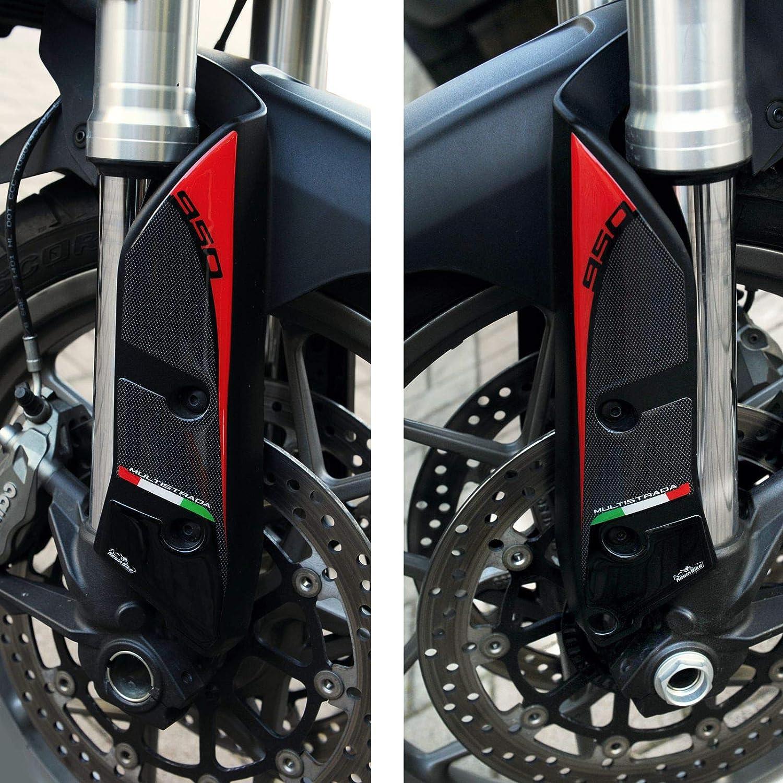 Adesivi 3d Compatibili Con Parasteli Parafango Ducati Multistrada 950