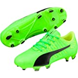 PUMA Boys Evopower Vigor 4 Fg Jr Gg, Green Football Boots