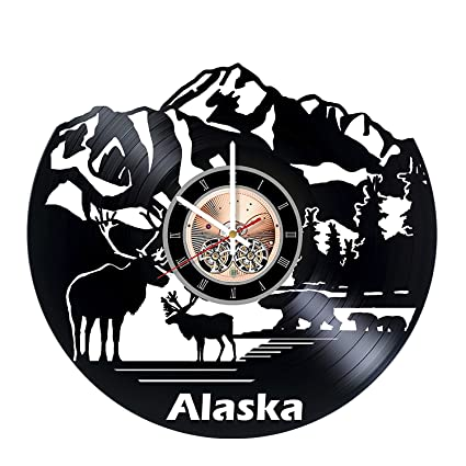 Peanuts Snoopy Vinyl Record Wall Clock Gift ideas for adults and youth Best Rock Music Band Unique Modern Art Get unique bedroom or kitchen wall decor