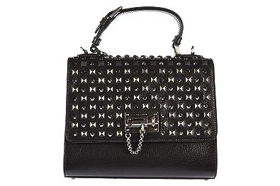 11a287bb21c708 Dolce   Gabbana sac à main femme en cuir noir  Amazon.fr  Chaussures ...