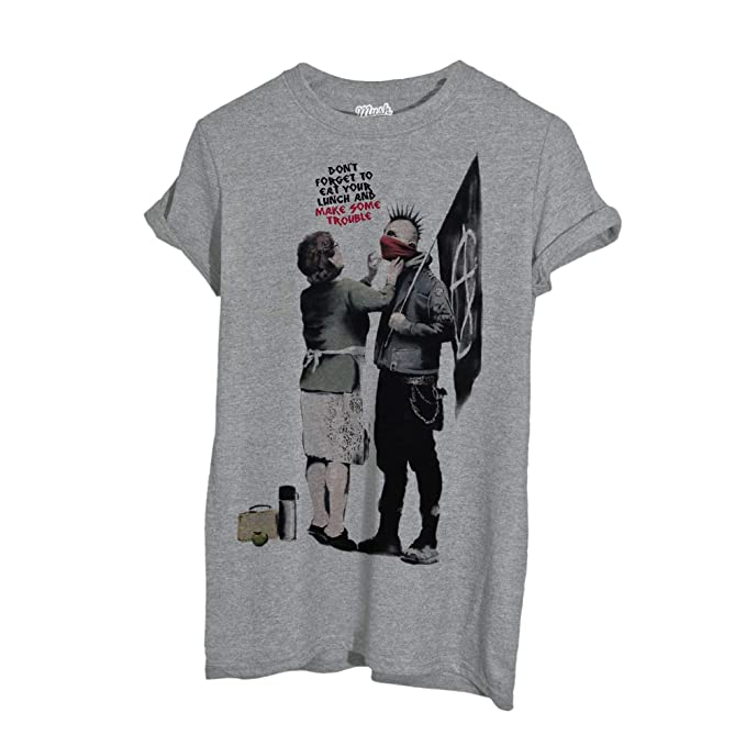 Anarchico Style Famosi By Your T Shirt Banksy Dress Mamma Mush QrdxtsCh
