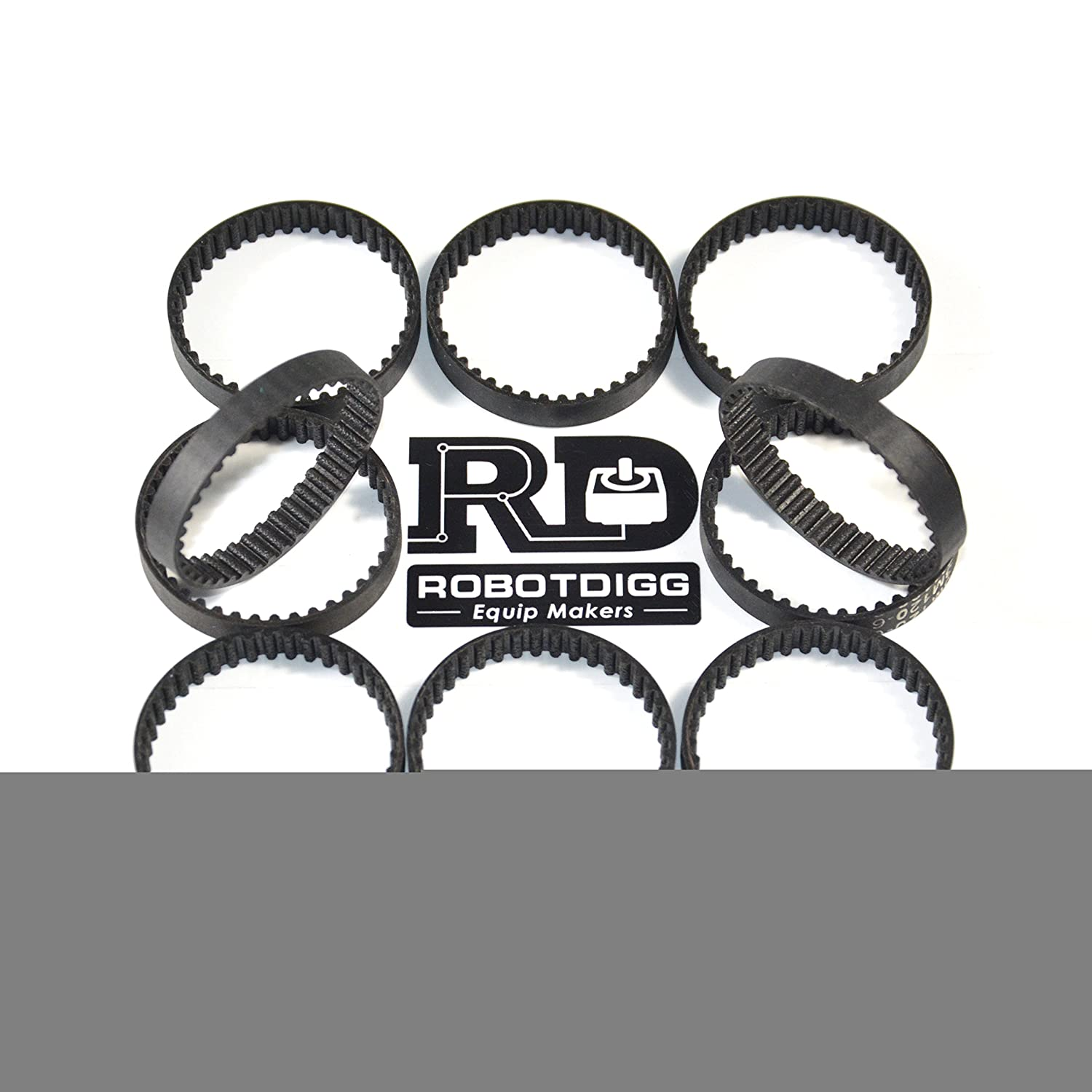 D/&D PowerDrive 249-3M-09 Timing Belt Rubber 249 mL Length 3M