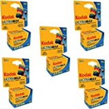 Kodak 603 4078 Ultramax 400 Color Negative Film (ISO 400) 35mm 36 Exposures Carded 5 Pack