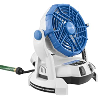 Arctic Cove MBF0181 18 Volt Bucket Top Misting Fan With 2 Speeds (Battery  And