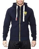 SMILODOX Kapuzenpullover Herren   Zip Hoodie für Sport Fitness Training & Freizeit   Trainingsjacke - Sportpullover - Sweatjacke - Kapuzenpulli mit Reißverschluss