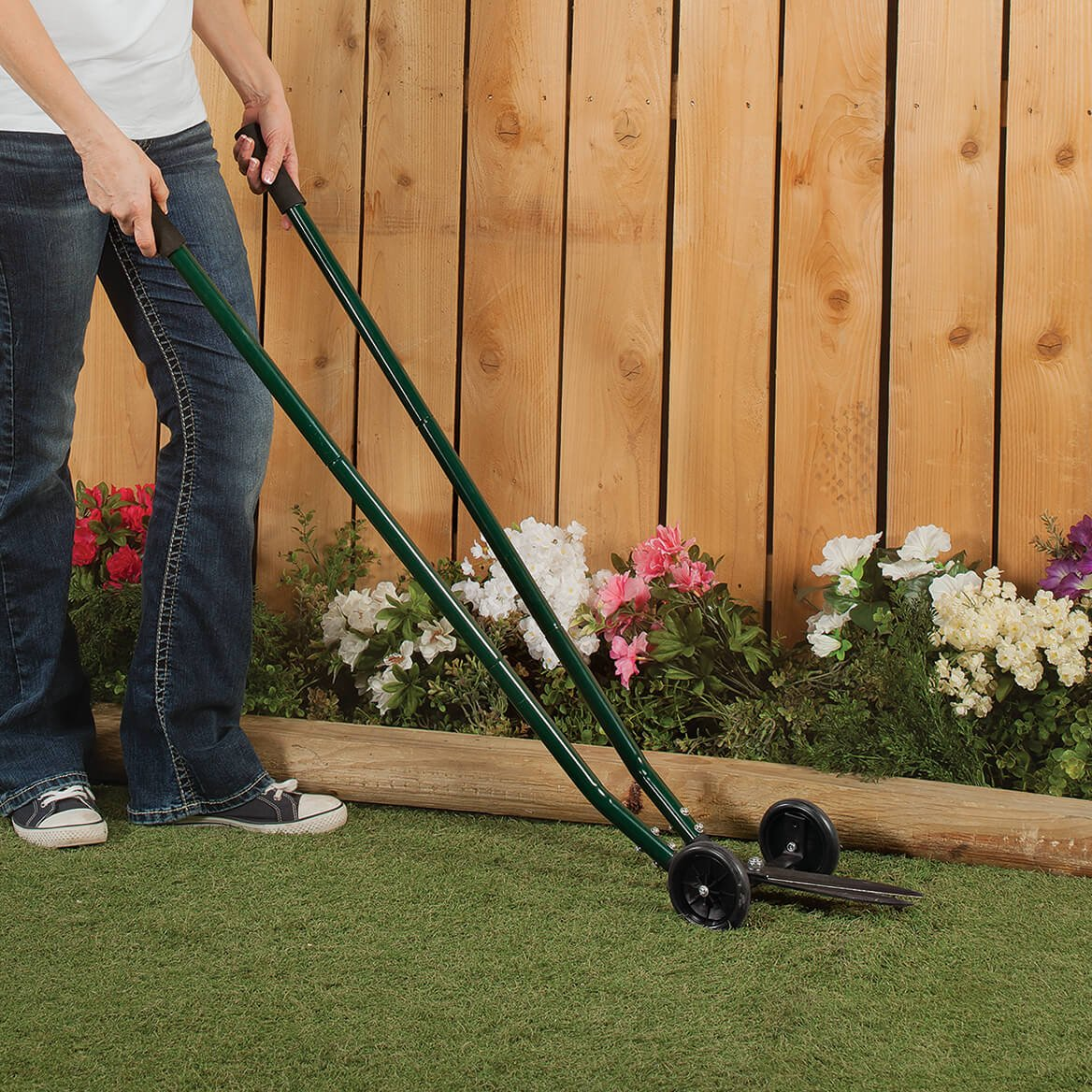 Amazon.com : Miles Kimball Rolling Grass Trimmer : Garden & Outdoor