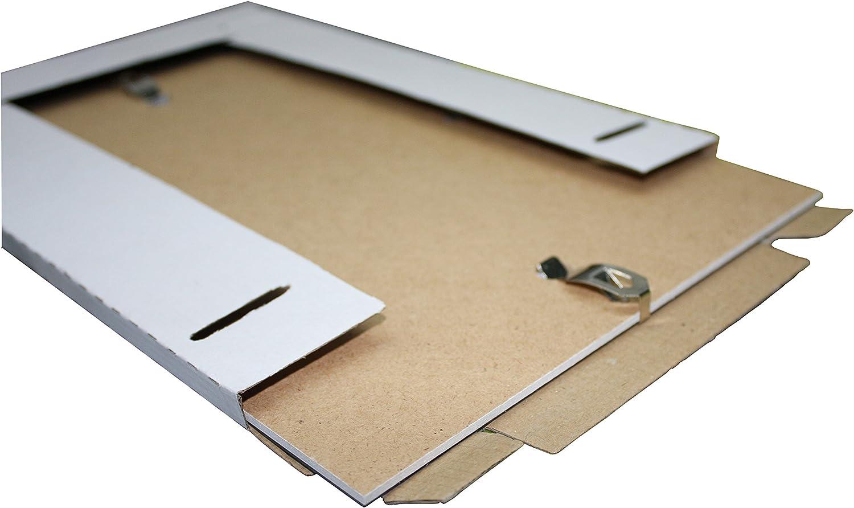Rahmen Kunstglas Plexi 50x70 cm Rahmenloser Bilderrahmen Bildträger mit Clip