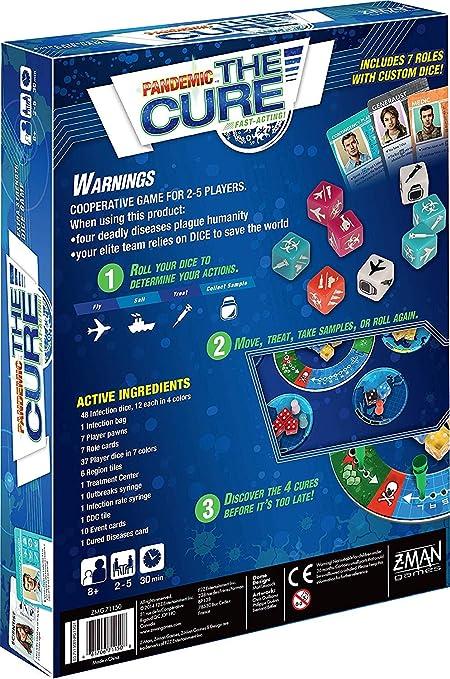 Z-Man Games Pandemic: The Cure: Amazon.es: Juguetes y juegos