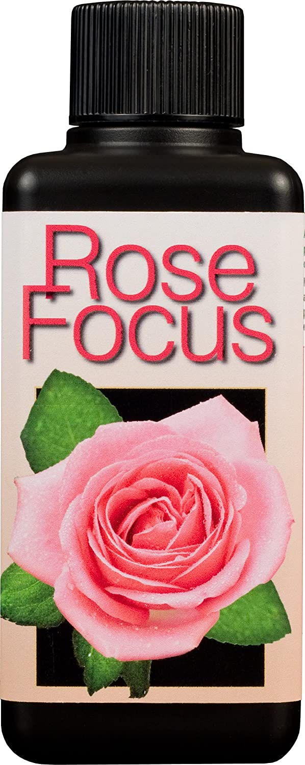 Rose Focus Unique Liquid Concentrated Fertiliser 100ml Growth Technology Ltd 05-210-255