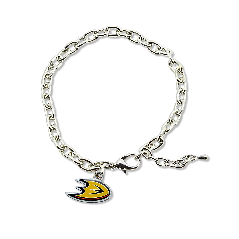 NHL Anaheim Ducks Logo Bracelet