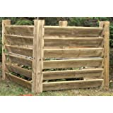 Holz Komposter Mit Deckel - 75 cm x 90 cm x 90 cm.: Amazon