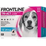 6 Pipette Frontline Tri-Act Spot-On per Cani M (10 - 20 kg)