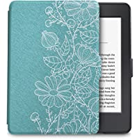 WALNEW Case for Kindle Paperwhite PU Leather Smart Protective Cover fits All Paperwhite Generations Prior to 2018 (Not fit All-New Paperwhite 10th Generation)
