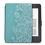 Capa Case Kindle Paperwhite Walnew Função Liga/Desliga (Flores)