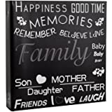 Arpan 10 x 15cm Large Photo Album for 500 Photo's - Black