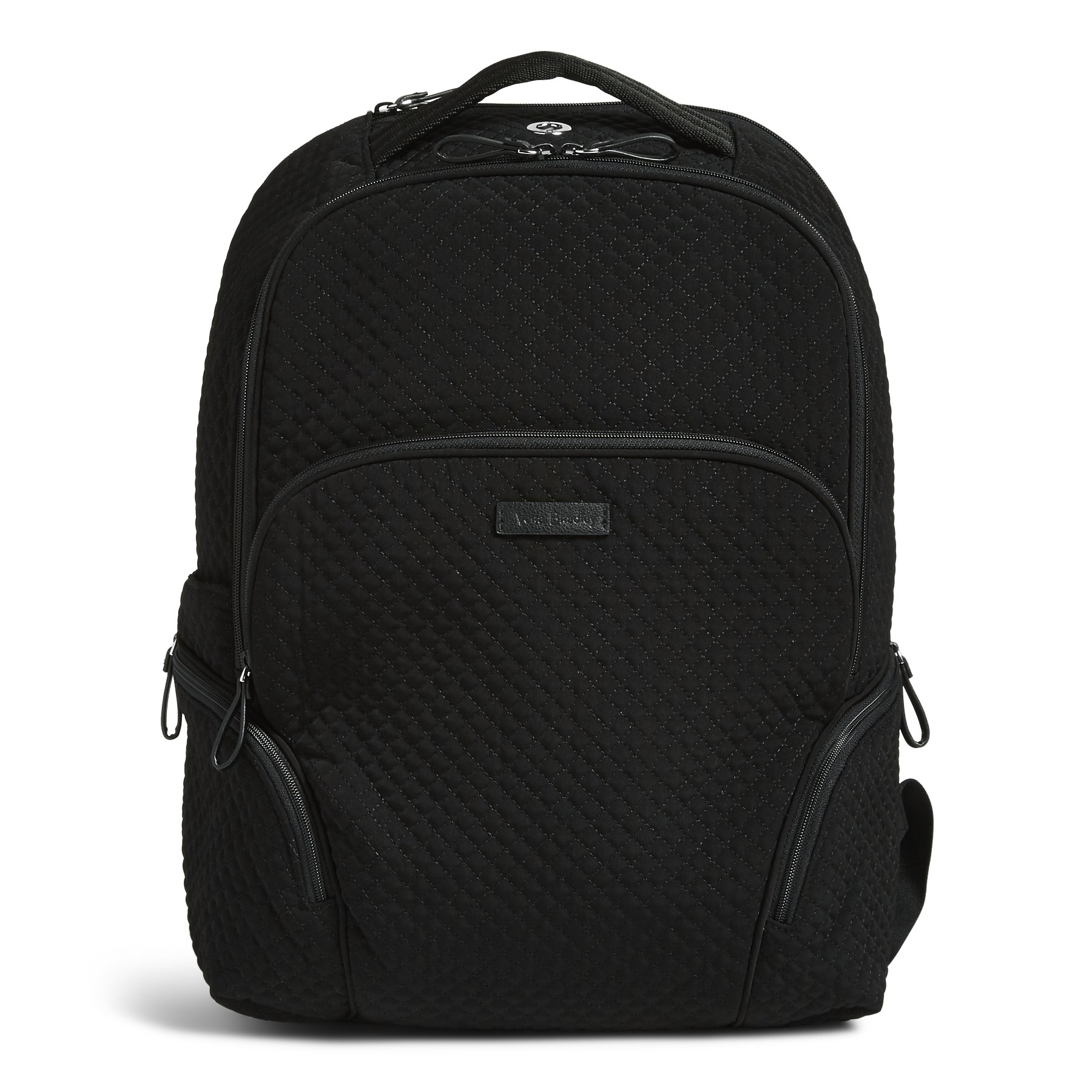 Vera Bradley Iconic Backpack, Microfiber, classic black by Vera Bradley
