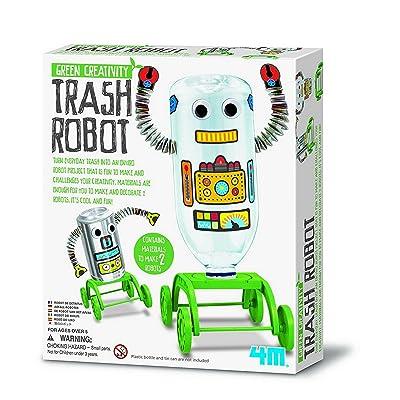 4M Green Creativity Trash Robot: Toys & Games